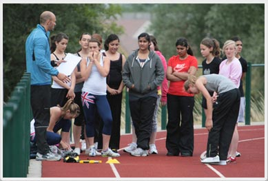 Athletics Summer Camp Berkshire Middlesex Surrey